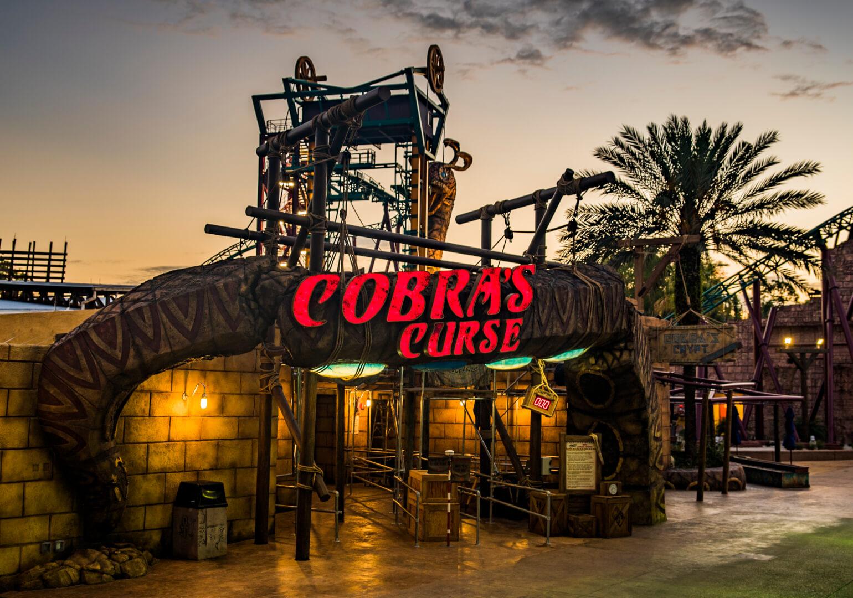 Cobra 39 S Curse Spin Coaster Set To Open June 17 At Busch Gardens Tampa Bay Inside The Magic