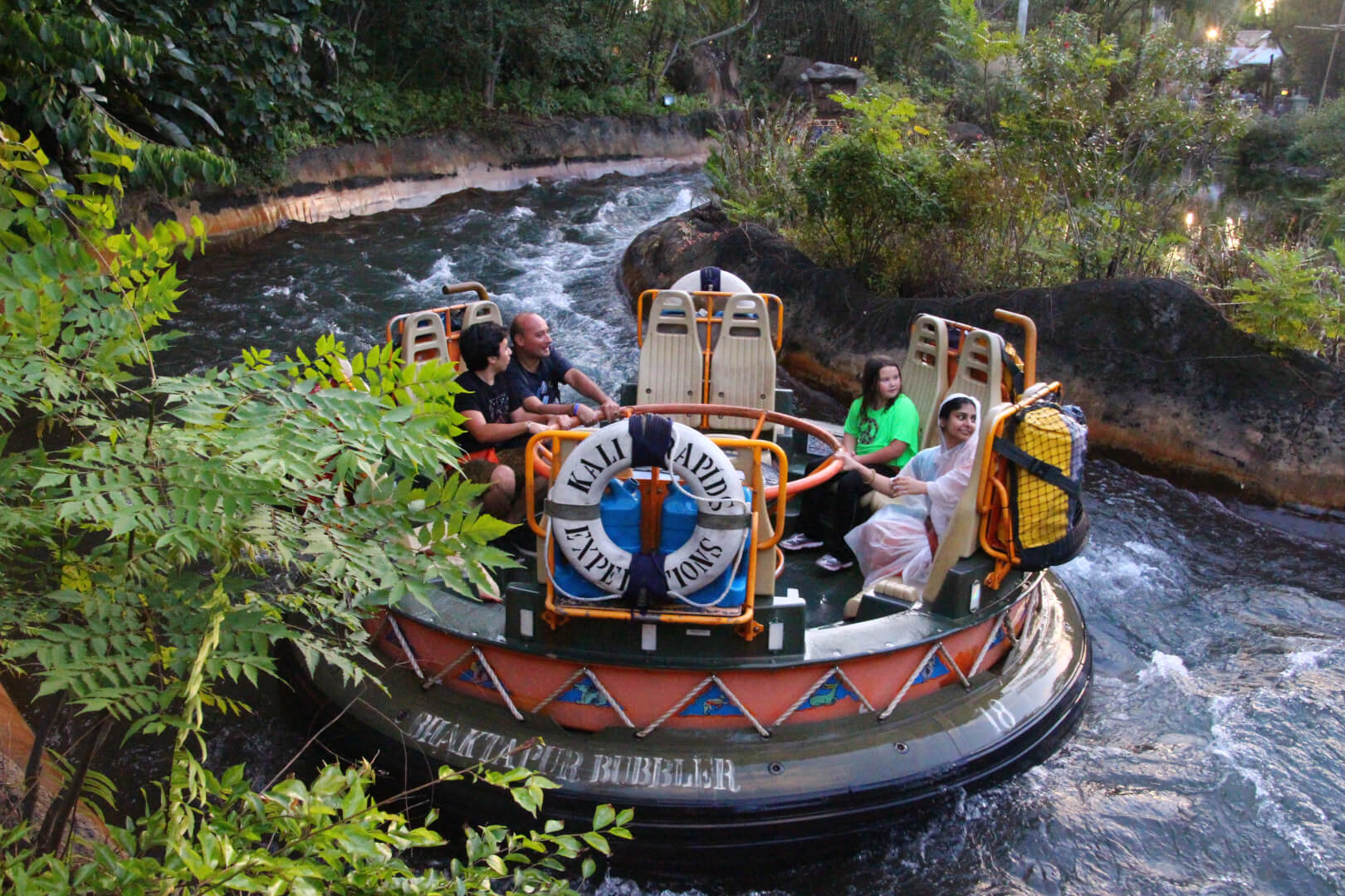 Image result for kali river rapids animal kingdom