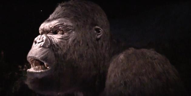 King Kong animatronic