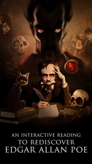 Crafted in the same artistic style of the above volumes, is macabre collection of E.A. Poe themed wallpapers (27 different images) creepily crafted by ...