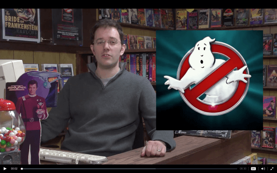 James Rolfe aka the Angry Video Game Nerd. via Cinemassacre.com