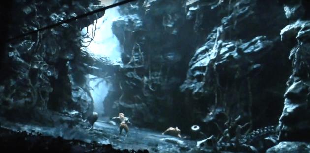 Skull Island scene