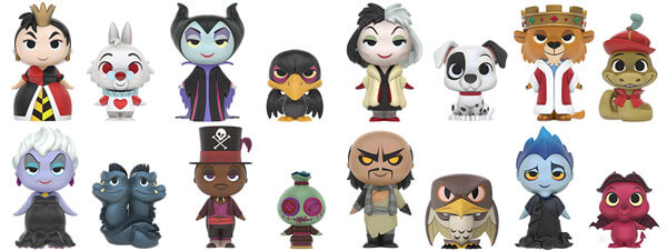 New Disney Villains Mystery Minis By Funko Coming In