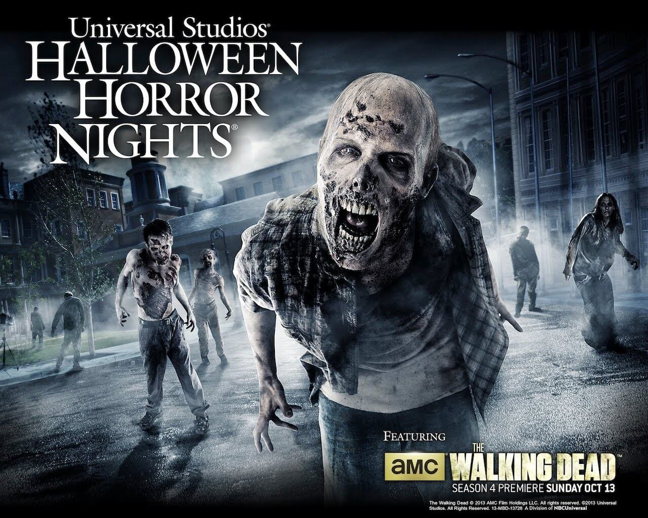 walking dead returns like youve never seen it before to halloween horror nights universal orlando inside the magic - Universal Halloween Night