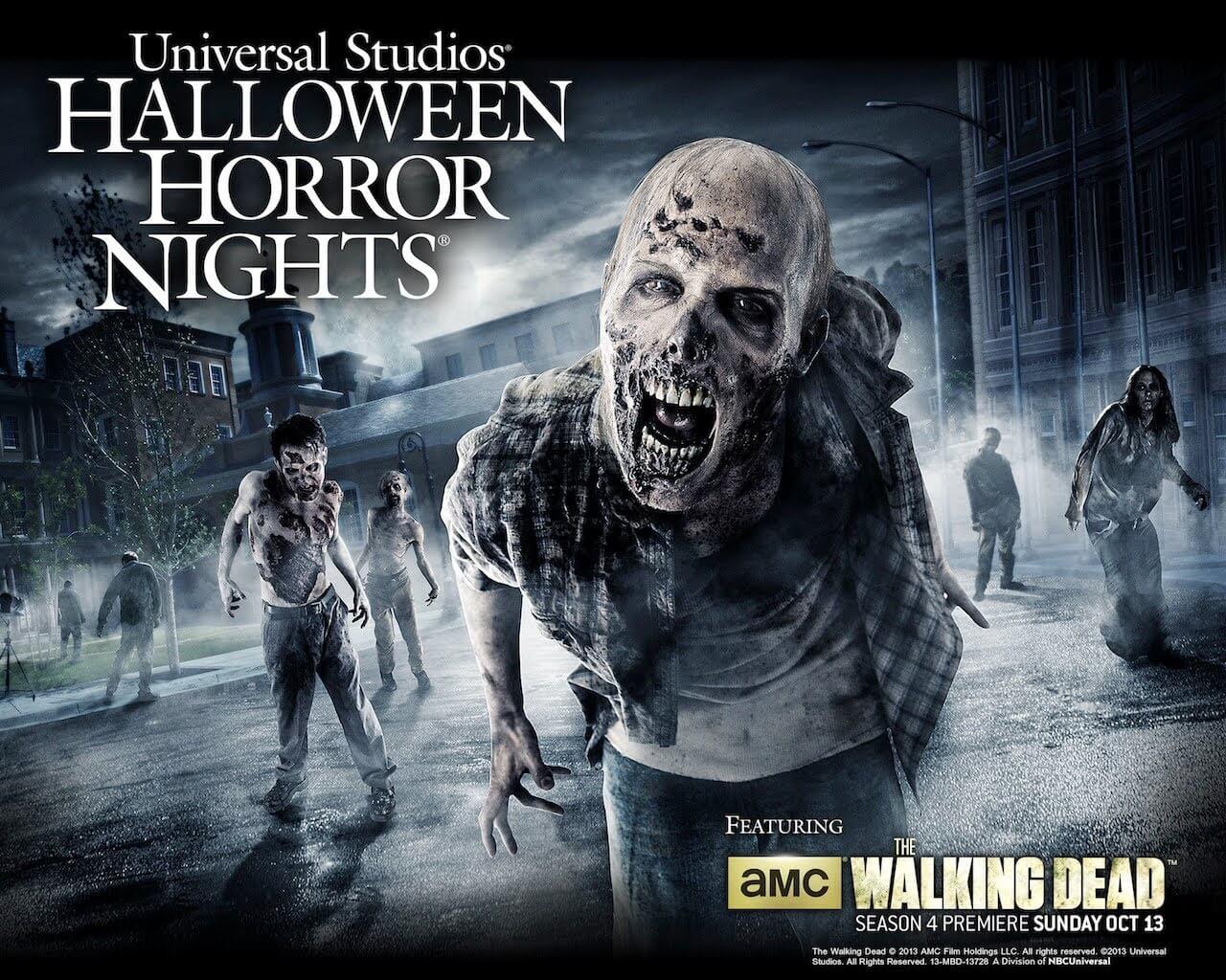 Walking Dead returns like you've never seen it before to Halloween ...