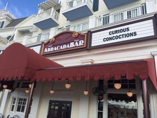 AbracadaBar on Disney's Boardwalk