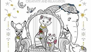New Art Of Coloring Disney Animals Book Now Released