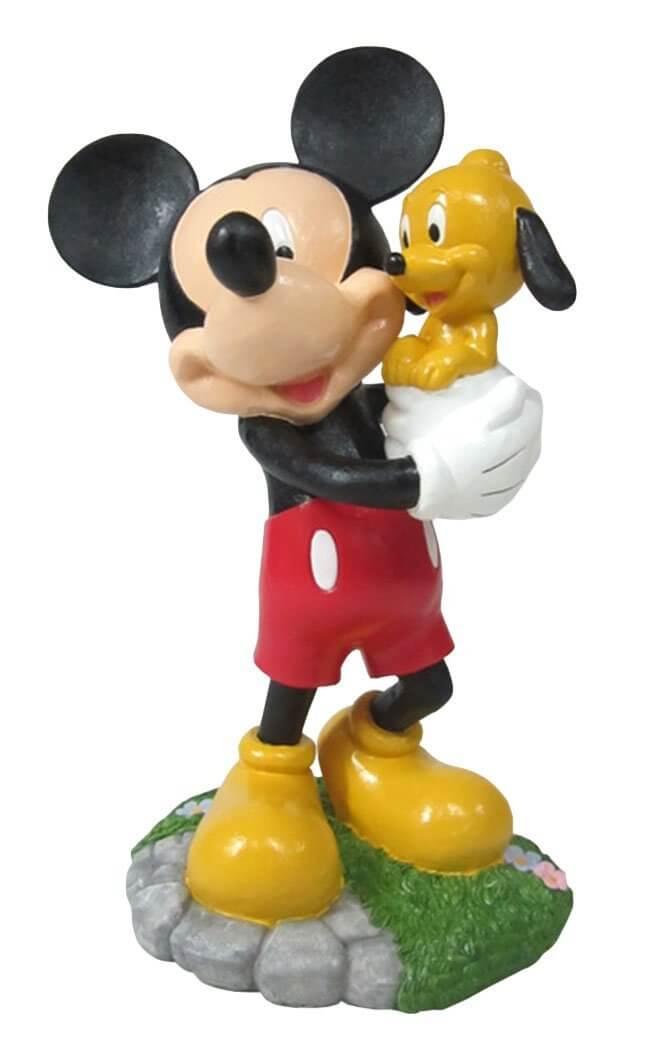 Mickey And Pluto Garden Statue Inside The Magic