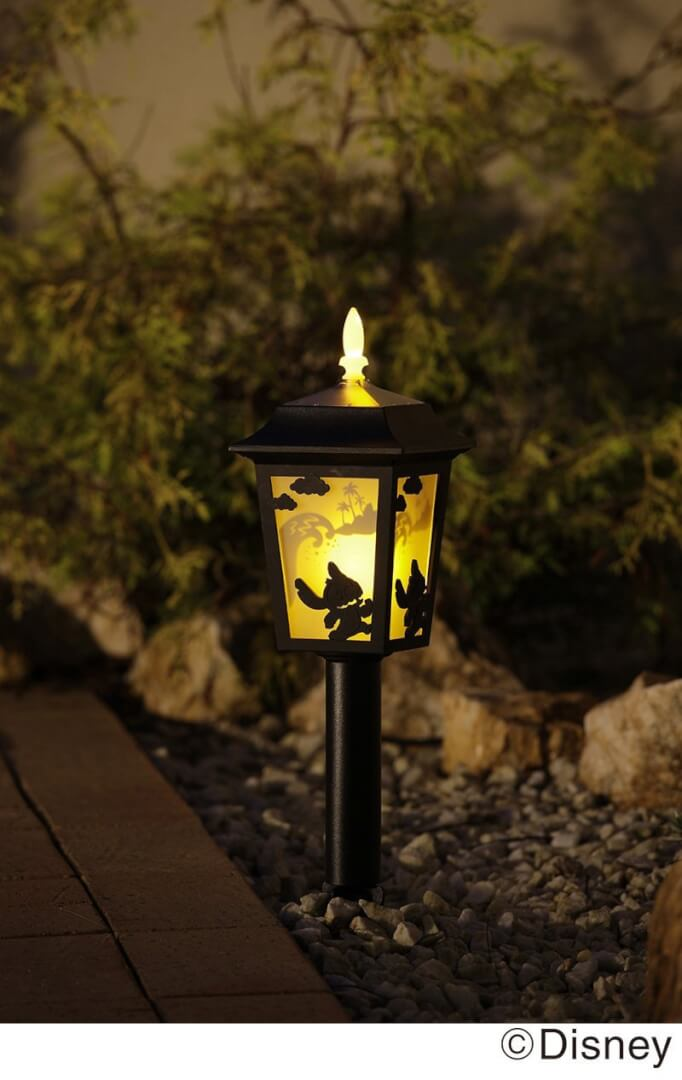 Disney lilo and stitch silhouette garden solar light inside the disney lilo and stitch silhouette garden solar light inside the magic arubaitofo Choice Image