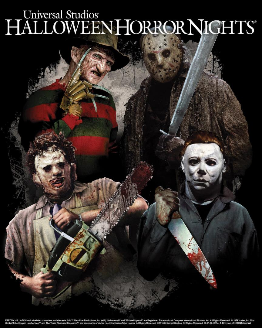 "Universal Studios Hollywood: ""Freddy vs. Jason,"" ""The Texas ..."