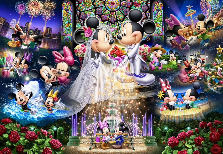 Disney Wedding Dream jigsaw puzzle (2000 Piece) | Inside ...