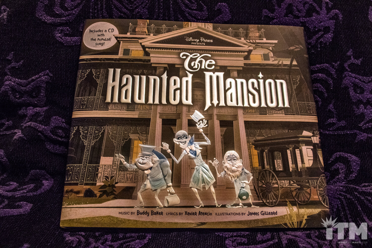 Disney s new haunted mansion hardcover picture book is a for Classic haunted house novels