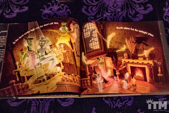Haunted Mansion Foyer Music : Disney s new haunted mansion hardcover picture book is a