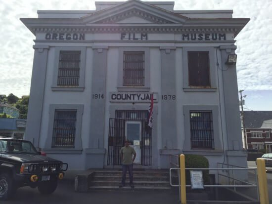 The Oregon Film Museum, formerly the Clatsop County Jail