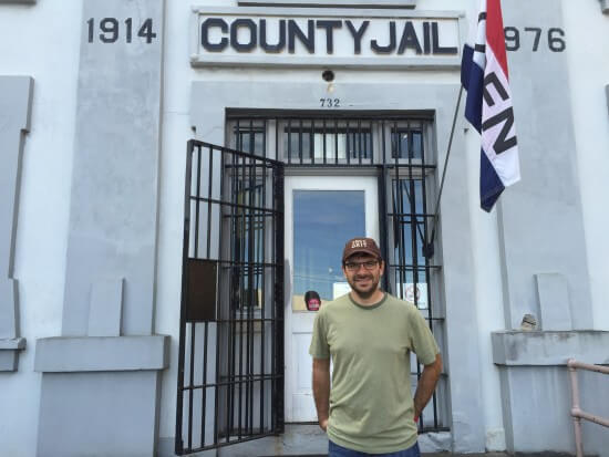 "The jail was the shooting location for the entire opening scene of ""The Goonies"""