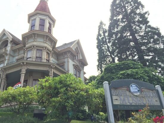 "The Flavel House played the Astoria Historical Museum in ""The Goonies."""