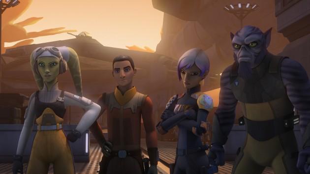 SWR S3 Hera, Ezra, Sabine, Zeb