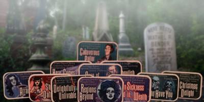 Adagio's Haunted Mansion inspired teas