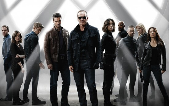 Agent Coulson and the Agents of SHIELD