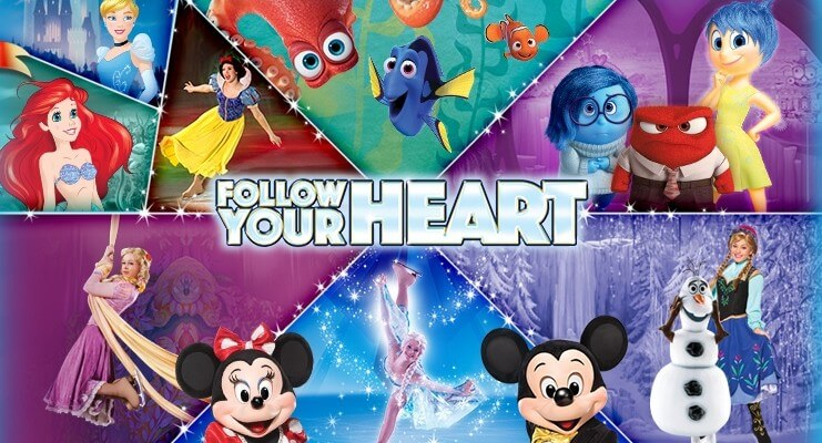 Image result for disney on ice follow your heart