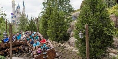 Seven Dwarfs Mine Train Walt Disney World