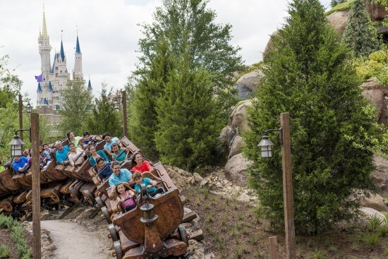 Seven Dwarfs Mine Train Walt Disney World