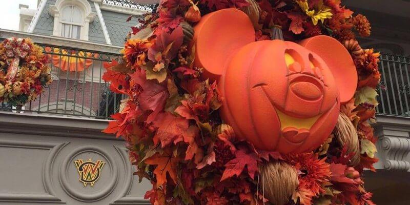 video halloween season has arrived at walt disney world with festive decorations - Disney World Halloween Decorations
