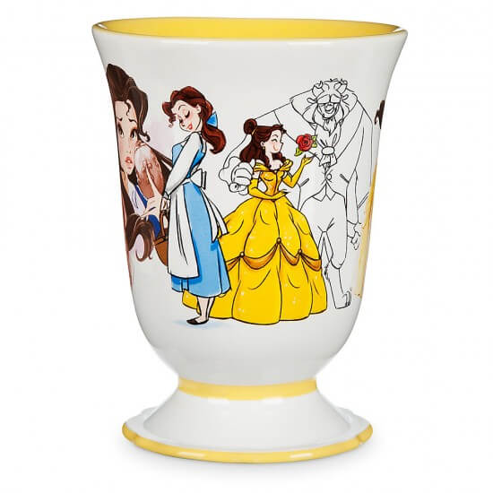 New Art Of Belle Mugs From Disney Store Inside The Magic