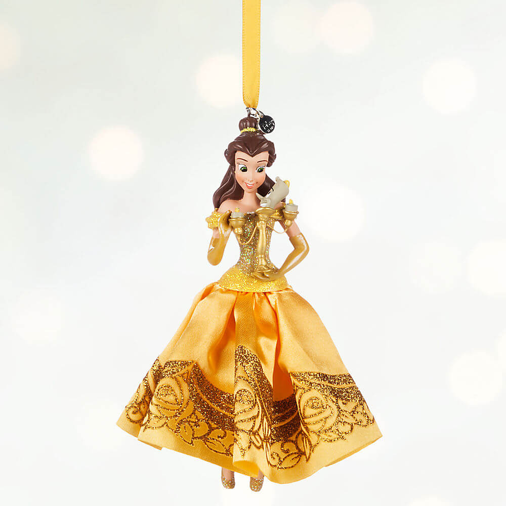 Disney Princess sketchbook ornament collection | Inside the Magic