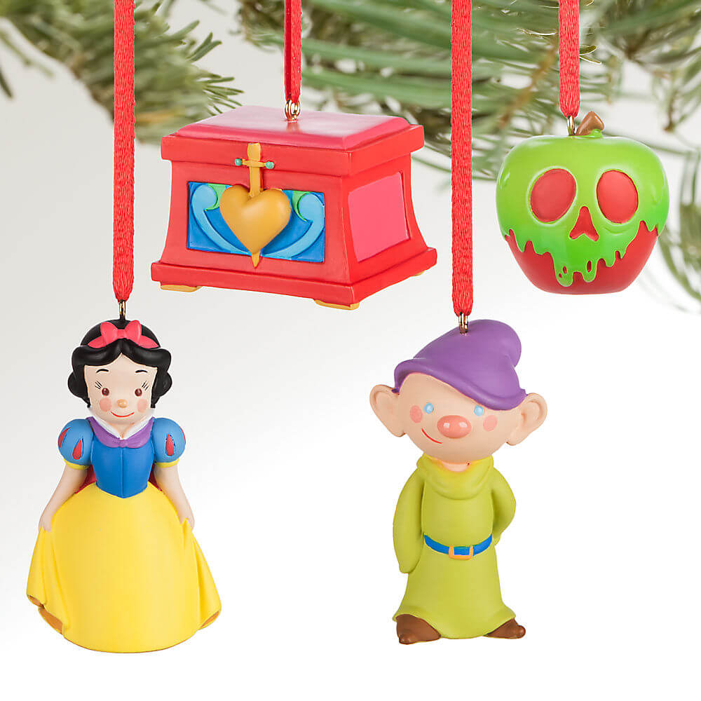 snow white and the seven dwarfs sketchbook minis ornament