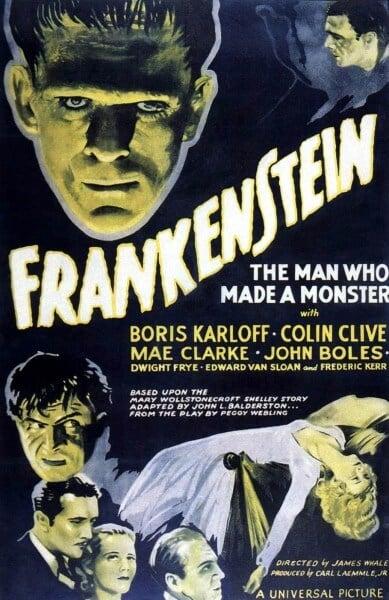 Frankenstein-Poster horrorfreaknews