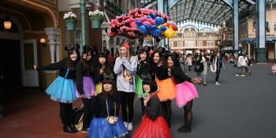 Disneybounders in Tokyo Disneyland