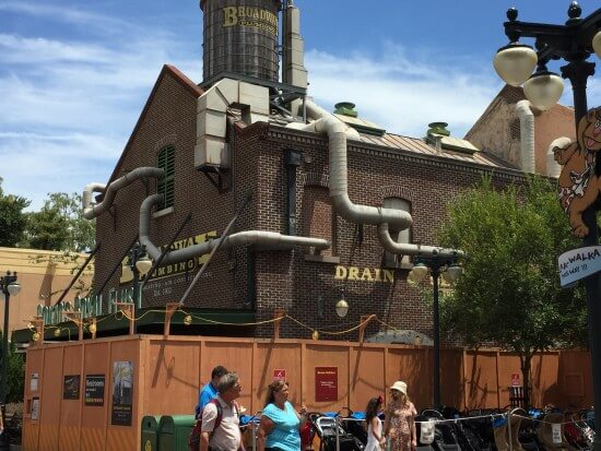 Muppet Courtyard Construction 2