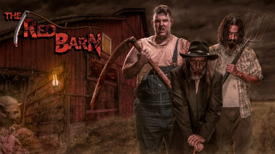 Red Barn Hero Image with logo slide