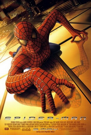Spider-Man theatrical poster. Image via