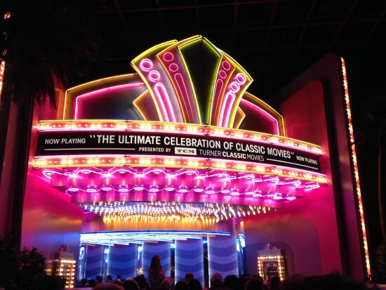 The Great Movie Ride Marquee. Image via Wikipedia.