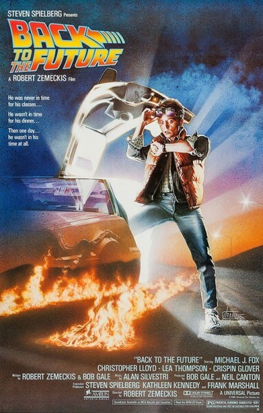 Back To The Future theatrical poster. Image via