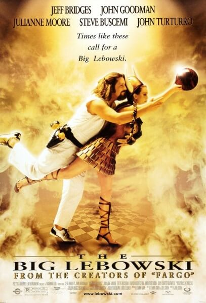 The Big Lebowski theatrical poster. Image via
