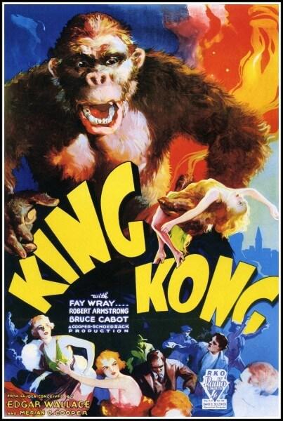 King Kong Poster. Image via Nighthawk Cinema
