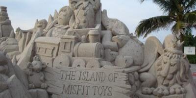 sandtastic misfit