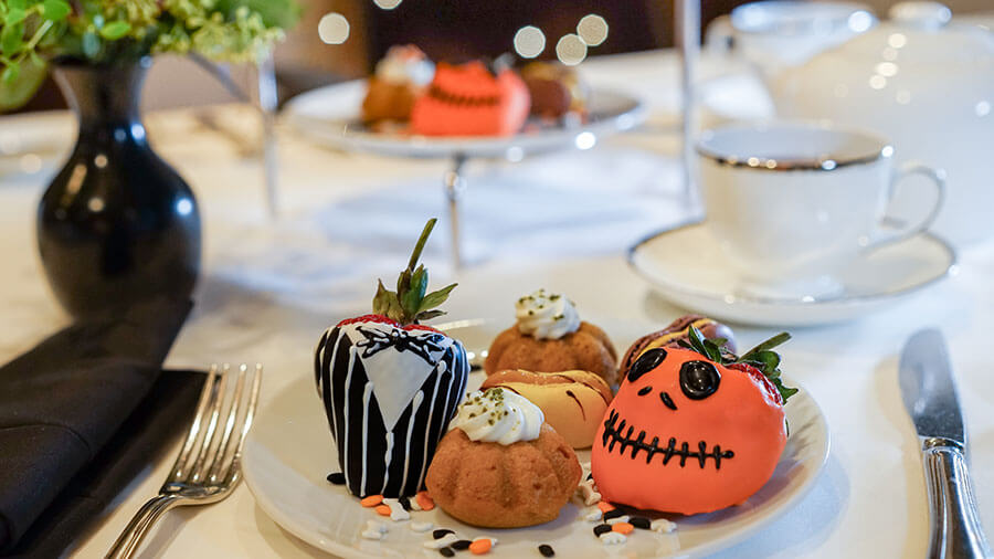 Special Halloween Themed Afternoon Tea Service To Be