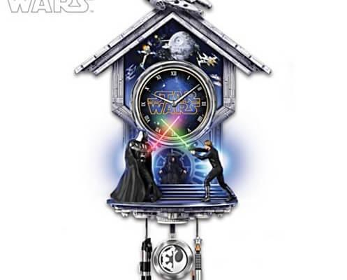 Star Wars Sith Vs Jedi Wall Clock With Light Up