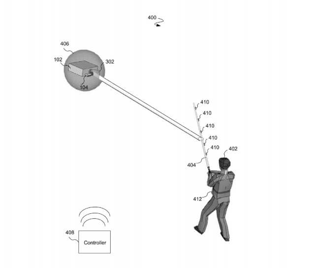 Jedi lightsaber patent