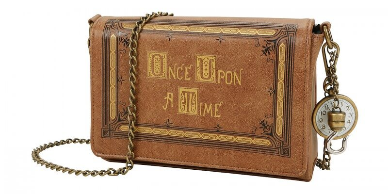 Once Upon A Time book cover crossbody bag | Inside the Magic