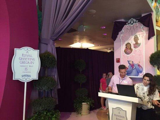 Disney Princess Meet and Greet in World of Disney