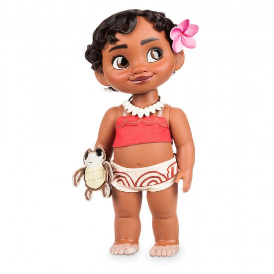 disney moana toddler doll from disney store inside the magic. Black Bedroom Furniture Sets. Home Design Ideas