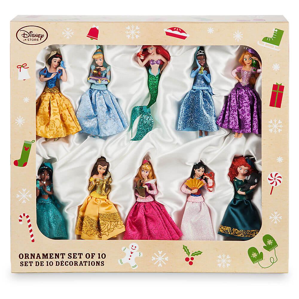Disney Princess sketchbook ornament set from Disney Store   Inside ...