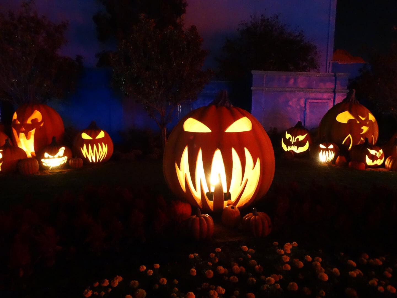 halloween theme parks orlando