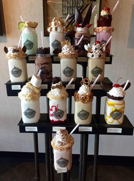 Toothsome Chocolate Emporium's milkshakes