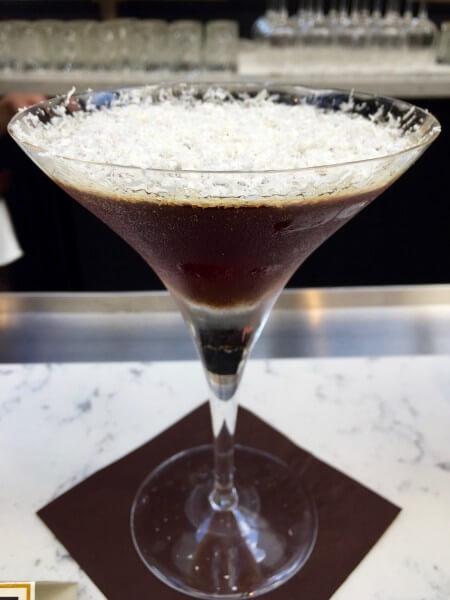 Vanilla Chocolate Cocktail